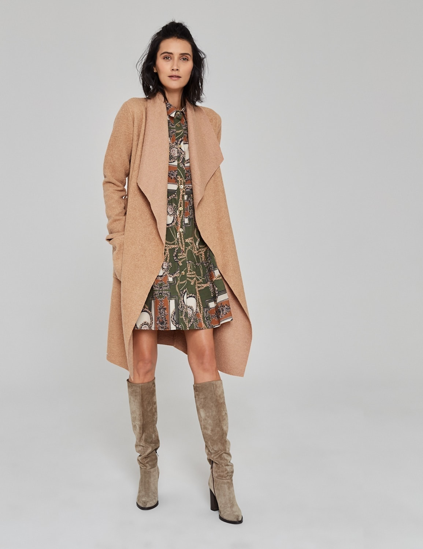 płaszcz z wełny boucle 03