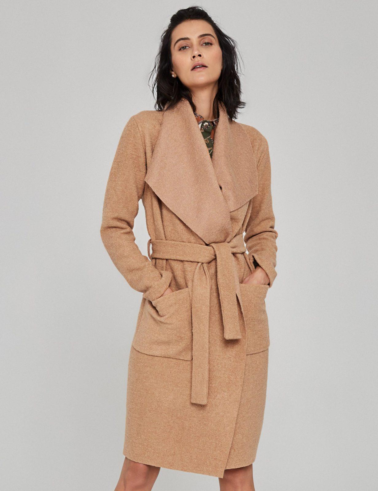płaszcz z wełny boucle 04