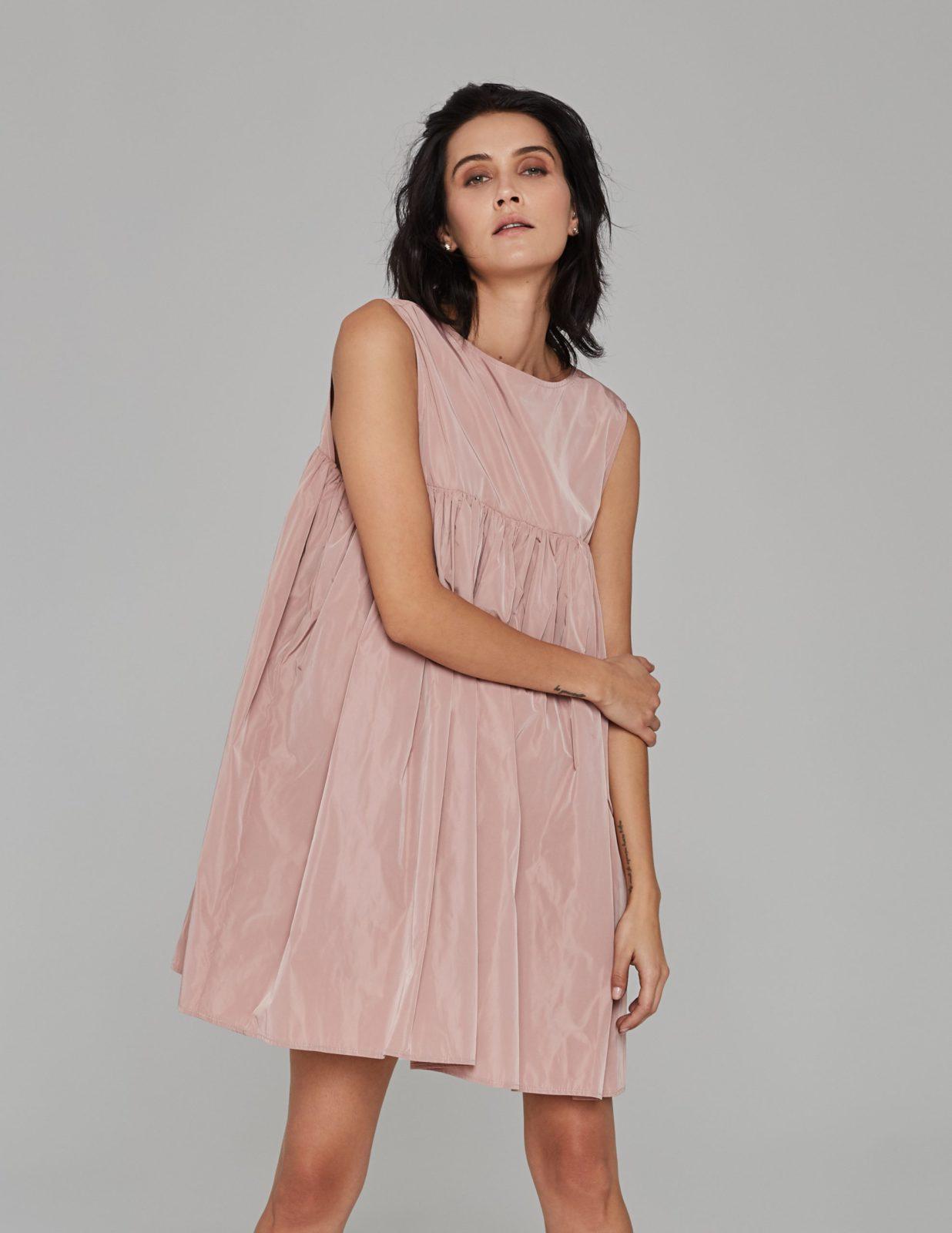 sukienka z tafty z falbana 02