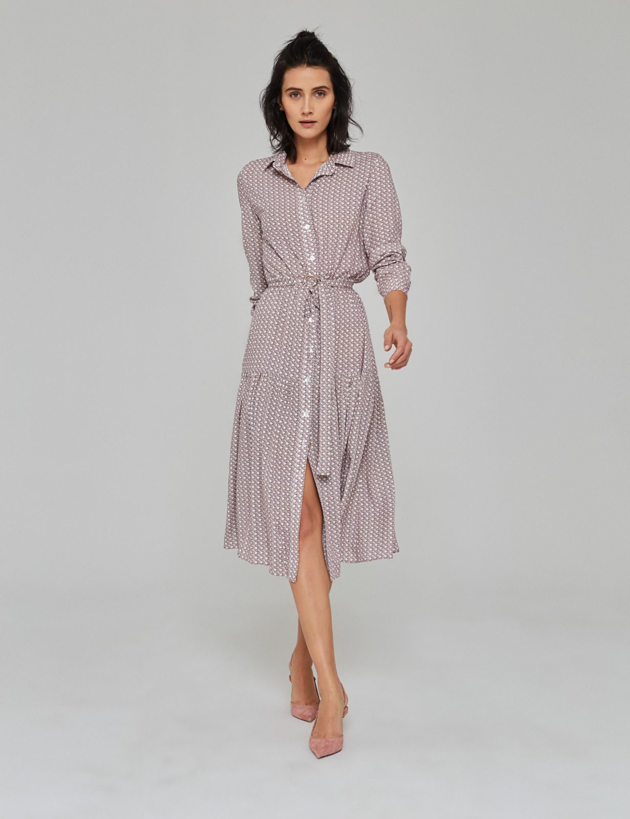 sukienka z wiskozy z nadrukiem 02